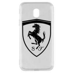 Чохол для Samsung J3 2017 Ferrari horse