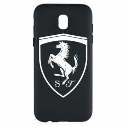 Чохол для Samsung J5 2017 Ferrari horse