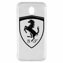 Чохол для Samsung J7 2017 Ferrari horse