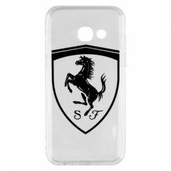 Чохол для Samsung A3 2017 Ferrari horse