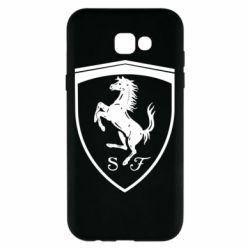 Чохол для Samsung A7 2017 Ferrari horse