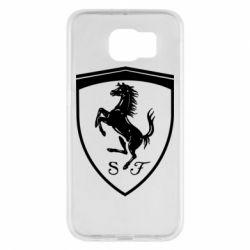 Чохол для Samsung S6 Ferrari horse