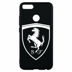 Чохол для Xiaomi Mi A1 Ferrari horse