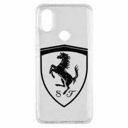 Чохол для Xiaomi Mi A2 Ferrari horse