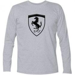 Футболка з довгим рукавом Ferrari horse