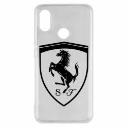 Чохол для Xiaomi Mi8 Ferrari horse