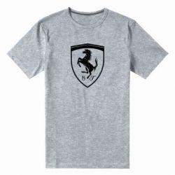Чоловіча стрейчева футболка Ferrari horse
