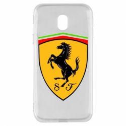 Чехол для Samsung J3 2017 Ferrari