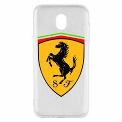 Чехол для Samsung J5 2017 Ferrari