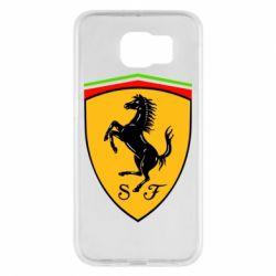 Чехол для Samsung S6 Ferrari