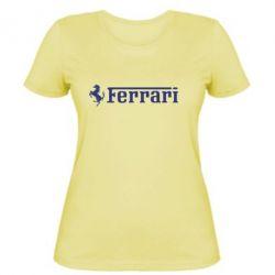 Жіноча футболка Ferrari - FatLine
