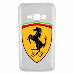 Чехол для Samsung J1 2016 Ferrari