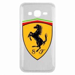 Чехол для Samsung J5 2015 Ferrari