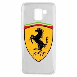 Чехол для Samsung J6 Ferrari