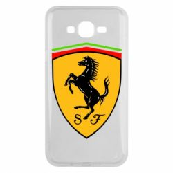 Чехол для Samsung J7 2015 Ferrari