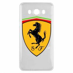 Чехол для Samsung J7 2016 Ferrari