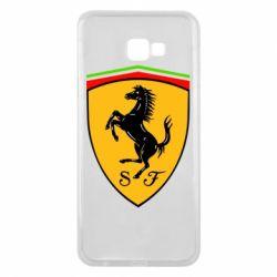 Чехол для Samsung J4 Plus 2018 Ferrari