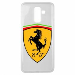 Чехол для Samsung J8 2018 Ferrari