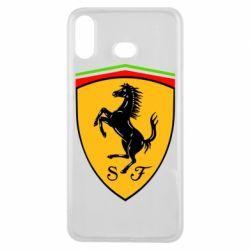 Чехол для Samsung A6s Ferrari