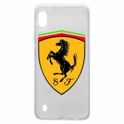 Чехол для Samsung A10 Ferrari