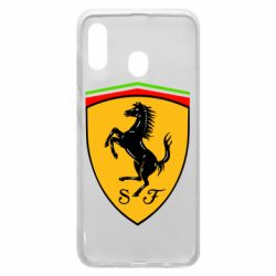Чехол для Samsung A20 Ferrari