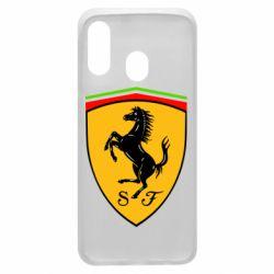 Чехол для Samsung A40 Ferrari