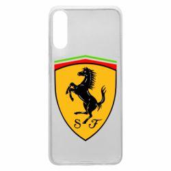 Чехол для Samsung A70 Ferrari