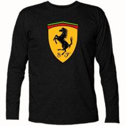 Футболка с длинным рукавом Ferrari - FatLine