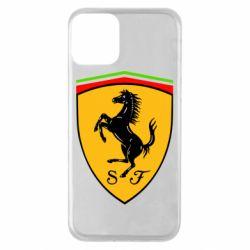 Чехол для iPhone 11 Ferrari