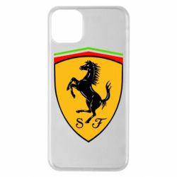 Чехол для iPhone 11 Pro Max Ferrari