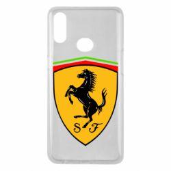 Чехол для Samsung A10s Ferrari