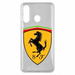 Чехол для Samsung M40 Ferrari