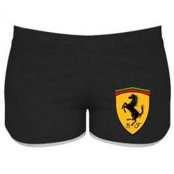 Женские шорты Ferrari - FatLine