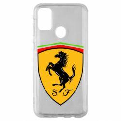 Чехол для Samsung M30s Ferrari