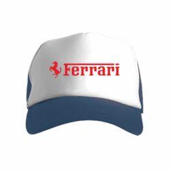 Детская кепка-тракер Ferrari