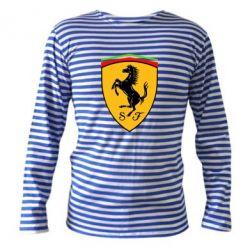 Тельняшка с длинным рукавом Ferrari - FatLine