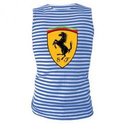 Майка-тельняшка Ferrari - FatLine