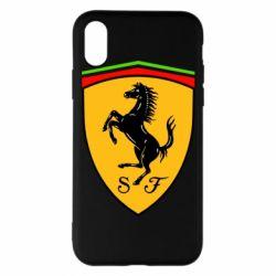 Чехол для iPhone X/Xs Ferrari