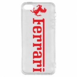 Чохол для iphone 5/5S/SE Ferrari - FatLine