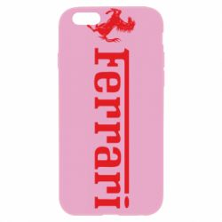 Чохол для iPhone 6/6S Ferrari - FatLine
