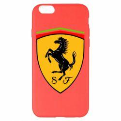 Чехол для iPhone 6 Plus/6S Plus Ferrari
