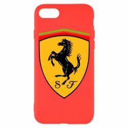 Чехол для iPhone 8 Ferrari