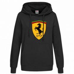 Женская толстовка Ferrari - FatLine
