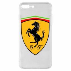 Чехол для iPhone 8 Plus Ferrari