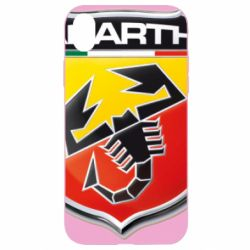 Чехол для iPhone XR FIAT Abarth