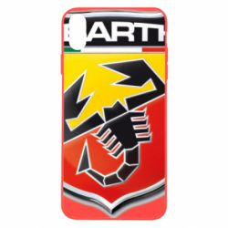 Чехол для iPhone Xs Max FIAT Abarth