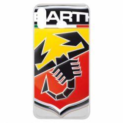 Чехол для Samsung A6s FIAT Abarth