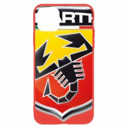 Чехол для iPhone 11 FIAT Abarth