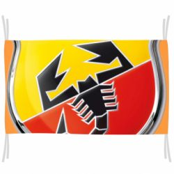 Флаг FIAT Abarth