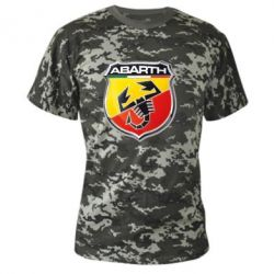 Камуфляжная футболка FIAT Abarth - FatLine